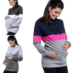 us maternity clothes breastfeeding tops hoodies sweat