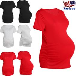 women maternity clothes short sleeve t shirt