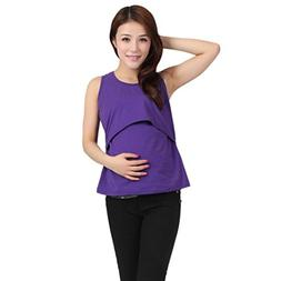 Clearance! Ruhiku GW Women's Maternity Tank Tops Stylish Wra