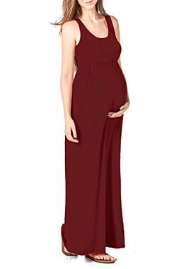 women s maternity maxi tank dress m