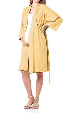 Beachcoco Women's Maternity Robe delivery/Nursing Made in US