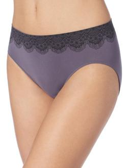 Bali Women's One Smooth U All Over Smoothing Hi Cut Panty, P