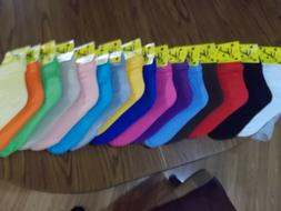WOMEN SLOUCH SOCKS SZ 9-11 ATHLETIC U-CHOOSE FROM 19 COLORS