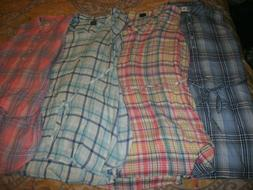 Womens Gap Maternity Plaid Sleeveless Shirt Choose Size & Co